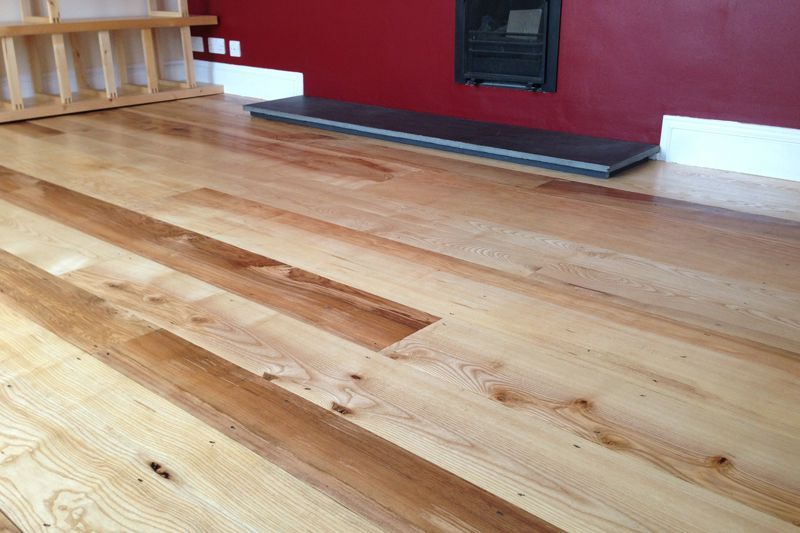 Bespoke & Rustic Solid English Ash Flooring Hampshire