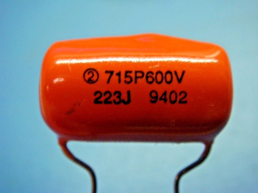 5 Sbe 715p22396ld 022uf 600v Radial Orange Drop Capacitor High Performance Sbecde Capacitors Electronics Components High Performance
