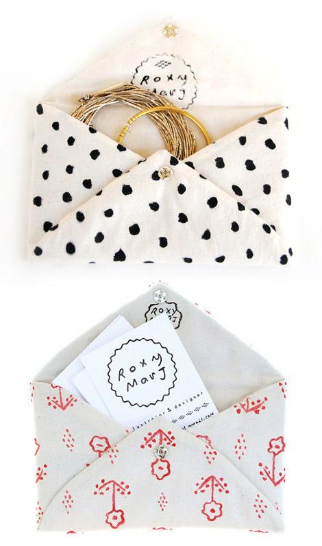 linen envelope
