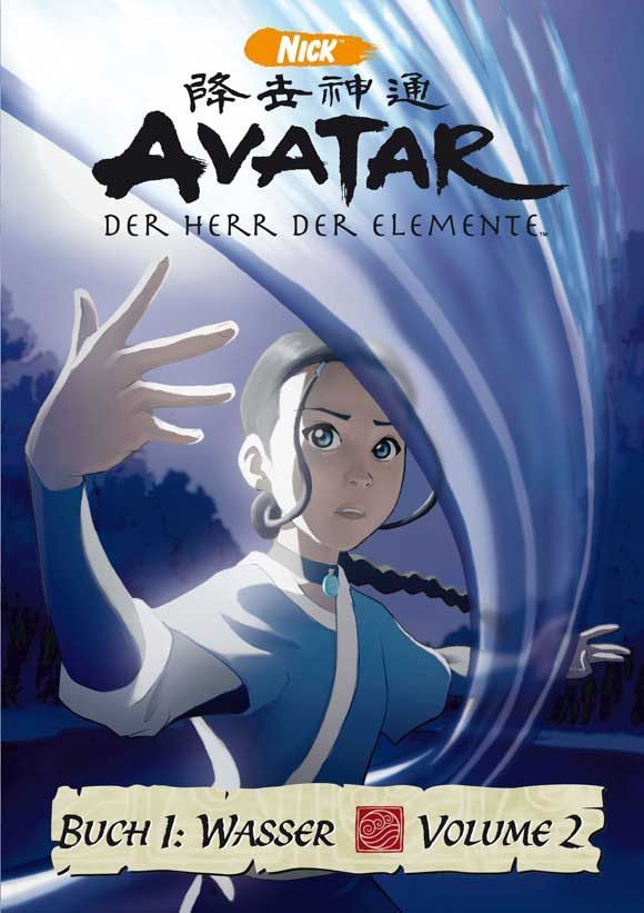 The Last Airbender German 11x17 Movie Poster 2005 Avatar The