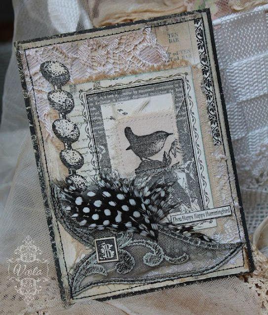 Shabby Chic Inspired: bird and eggs