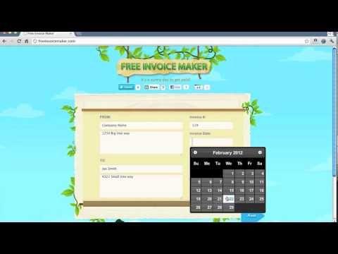 1000+ ideaa Free Invoice Creator Pinterestissä Dashboard - invoice generator software