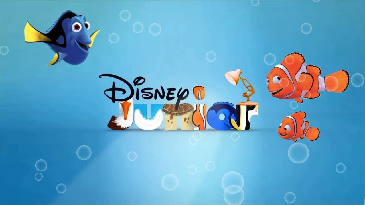 1273 Disney Junior With Finding Nemo Spoof Pixar Lamps Luxo Jr Logo Disney Junior Pixar Lamp Disney