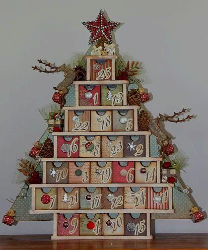 Imagine If Http Imagineifnz Blogspot Co Nz For Instructions Christmas Advent Calendar Christmas Calendar Diy Advent Calendar