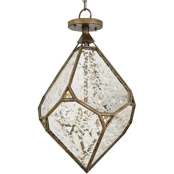 Raj Geometric Global Bazaar Diamond Shape Entry Way Chandelier (1,715 CAD) ❤ liked on Polyvore featuring home, lighting, ceiling lights, chain chandelier, diamond lamp, geometric lighting, ceiling mount lighting and diamond lighting
