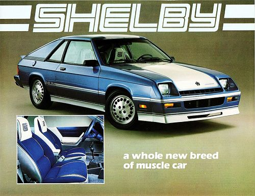 1983 Dodge Shelby Charger Canada Dodge Shelby Car Classic Cars