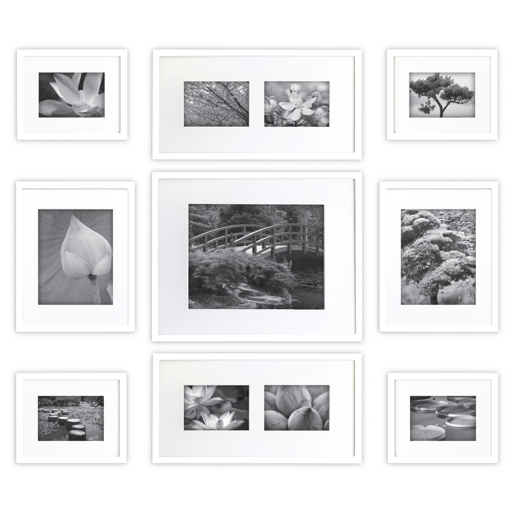 9pk Gallery Perfect Picture Frame White Gallery Solutions In 2020 Gallery Wall Frames Gallery Wall Frame Set Frames On Wall