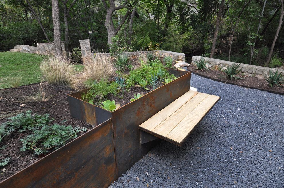 Image Result For Metal Planter Boxes Metal Planters