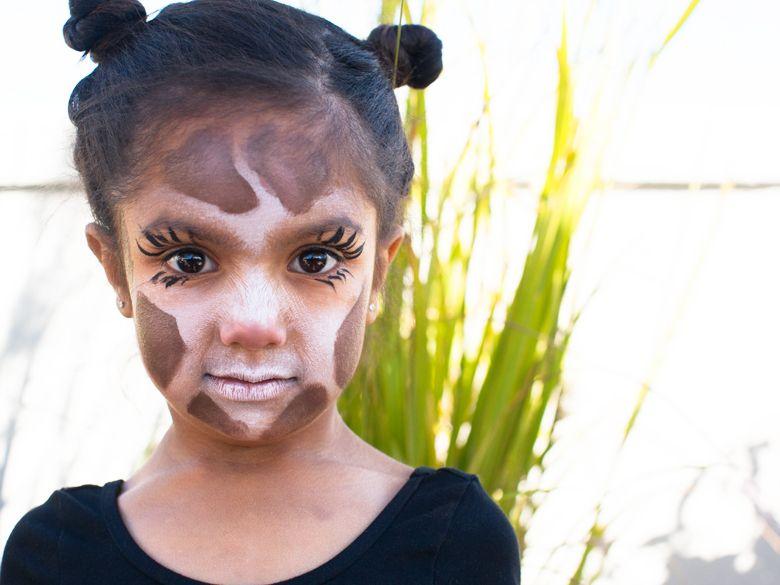 Animal Halloween Makeup Ideas | Halloween makeup, Giraffe and Makeup