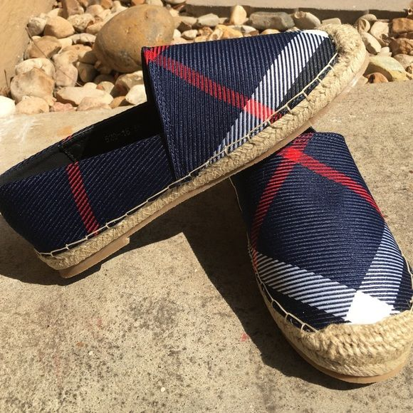 0ec08a36e6fb0 Plaid espadrilles boat shoes ☀ Bought them from a local shoe store but they  just