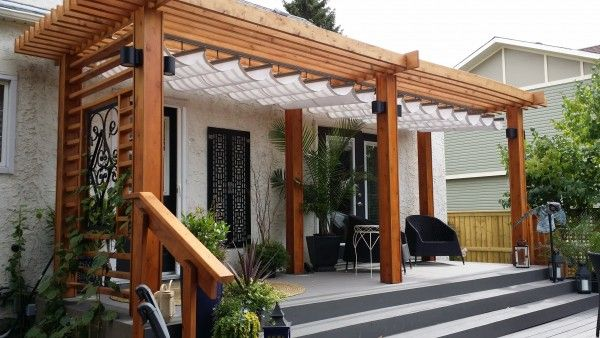 Attractive Retractable Canopy | Free Standing Pergola | Patio Canopy More