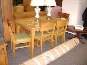 Basic Witz Dining Room Set Details For 1950 S