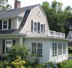 Image Result For Dutch Colonial With Enclosed Front Porch Screened