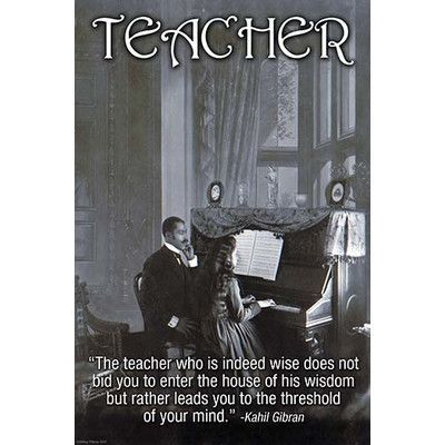 Buyenlarge 'Teacher' by Wilbur Pierce Vintage Advertisement Size: