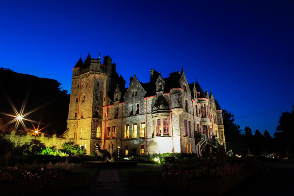 Belfast castle belfast castle castles in ireland
