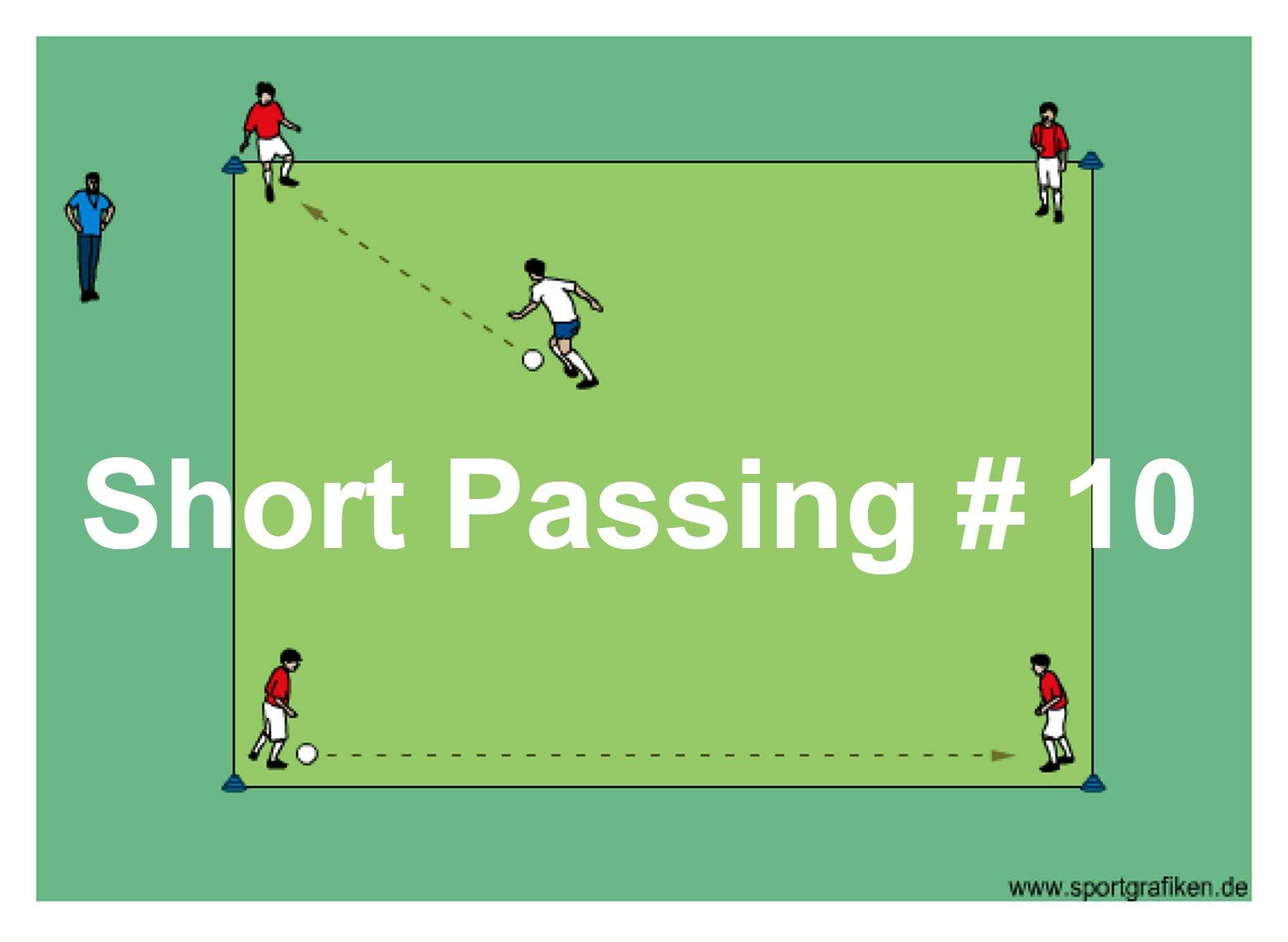 Short Passing 10 High School Soccer Players Often Benefit From Well Organized Drills Emphasizing T Soccer Drills Soccer Passing Drills Soccer Practice Drills