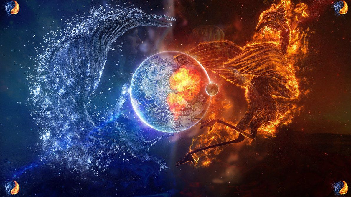 Fire and ice fractal abstract wallpaper hd wallpapers - 100 World Best Funny Photos Collection Set 55 Free Hd Desktop Wallpapers For Widescreen High Definition Mobile Pinterest Funniest Photos And