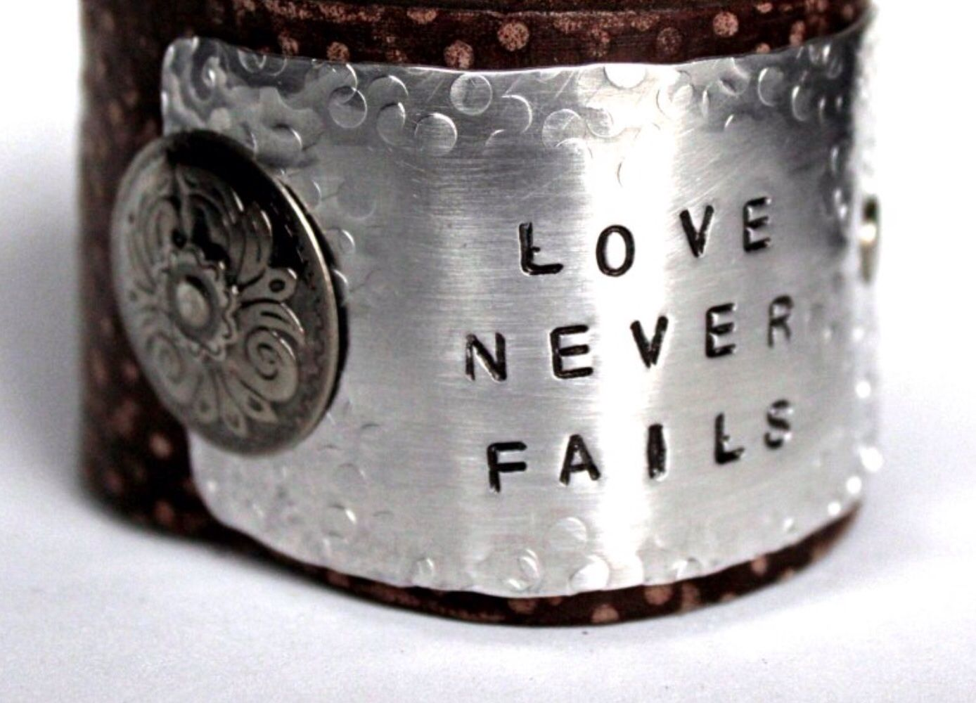 Jewelry junkie hand stamped