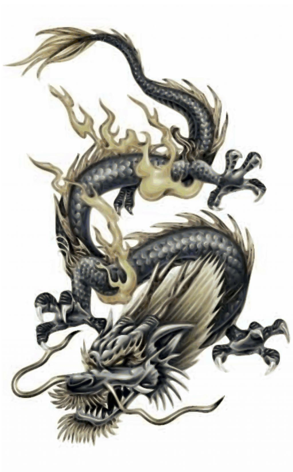 chinese dragon tattoo designs tatto pinterest chinese dragon tattoos dragon tattoo. Black Bedroom Furniture Sets. Home Design Ideas