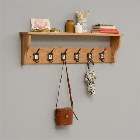 Vancouver Oak 40Hook School Coat Rack 4040 Quality Wooden Classy Coat Rack Vancouver