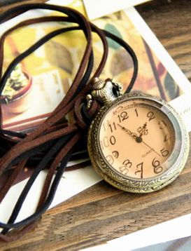 I wouldn't mind a long vintage watch pendant, either. *EDIT* I JUST BOUGHT A LONG VINTAGE PENDANT