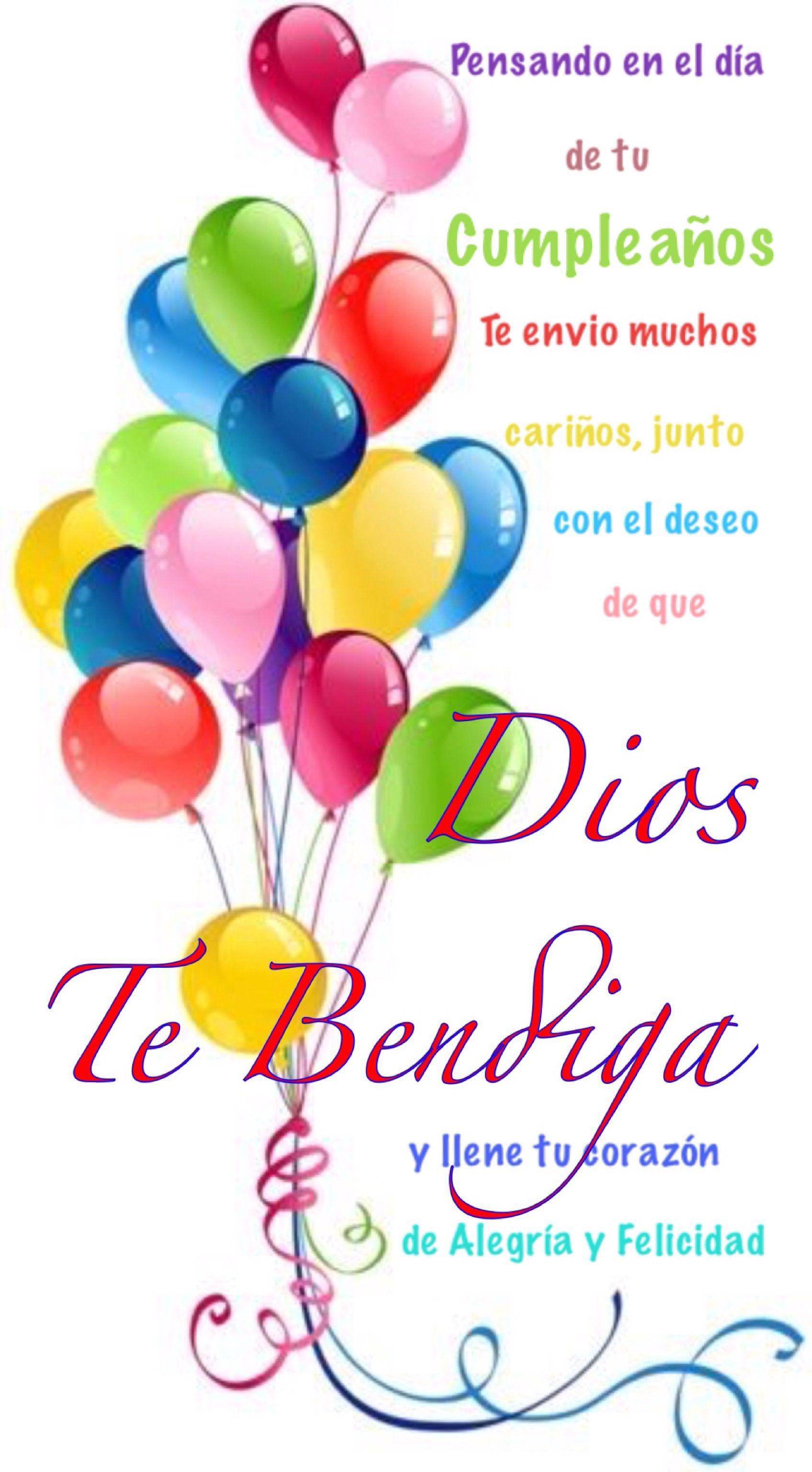 Dios Te Bendiga Henriqez Ana1 Pinterest Happy Birthday