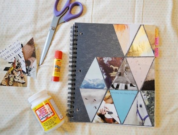 Decorate Your Notebooks Fun Diys Pinterest Diy Diy Notebook