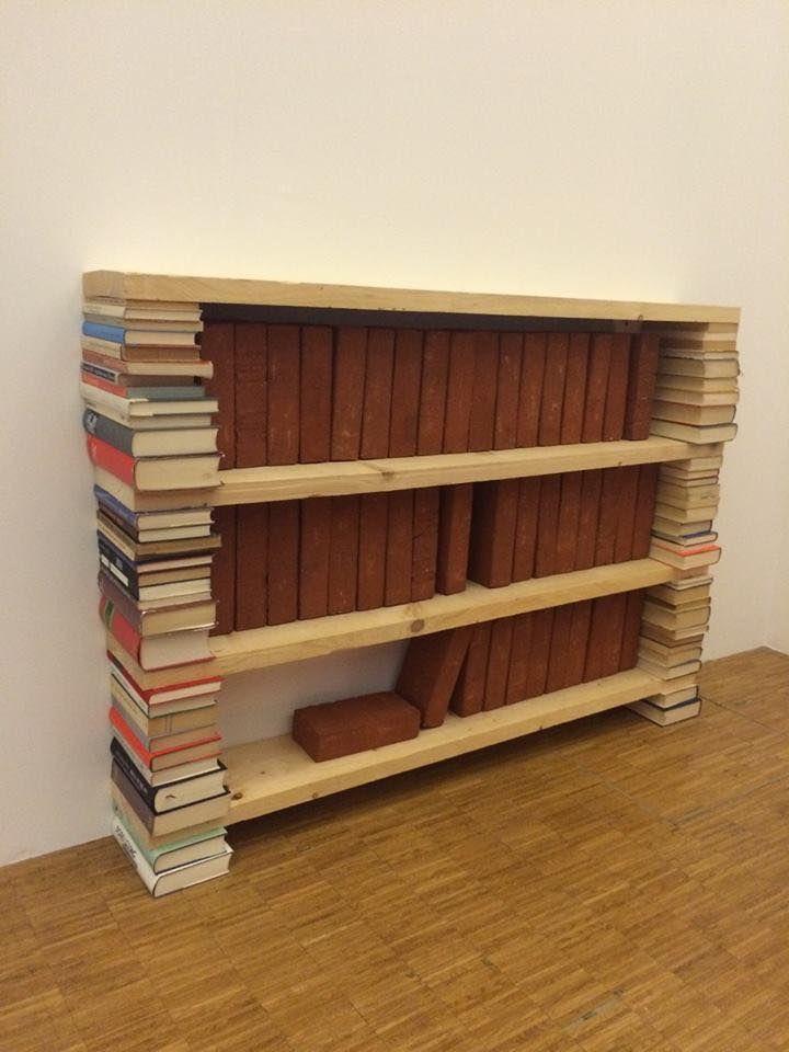 Do you like my new brick shelf?