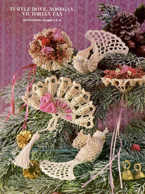 Victorian Crochet Ornaments Book 2 in PDF instant download | Tejidos ...