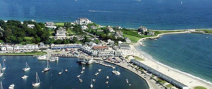 Marina Ping And Beach Watch Hill Rhode Island