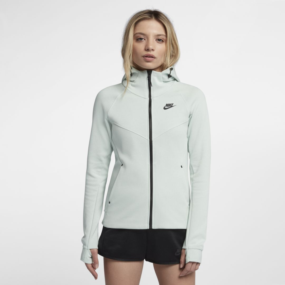 9b1cd7bc0919 Nike Sportswear Tech Fleece Windrunner Women s Full-Zip Hoodie Size XL  (Barely ...