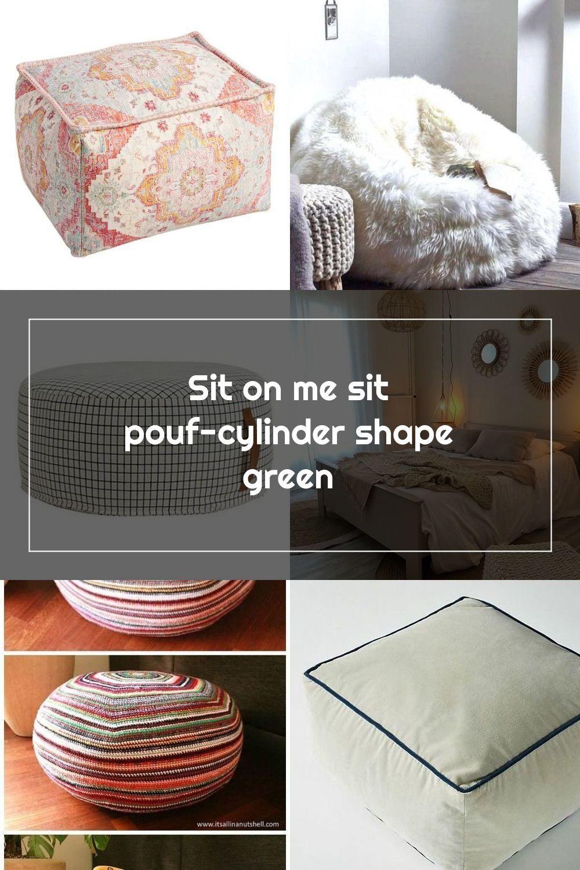 Sitting Pretty 25 Perfect Diy Pouf Tutorials Diy Pouf Diy Ottoman Diy Flooring