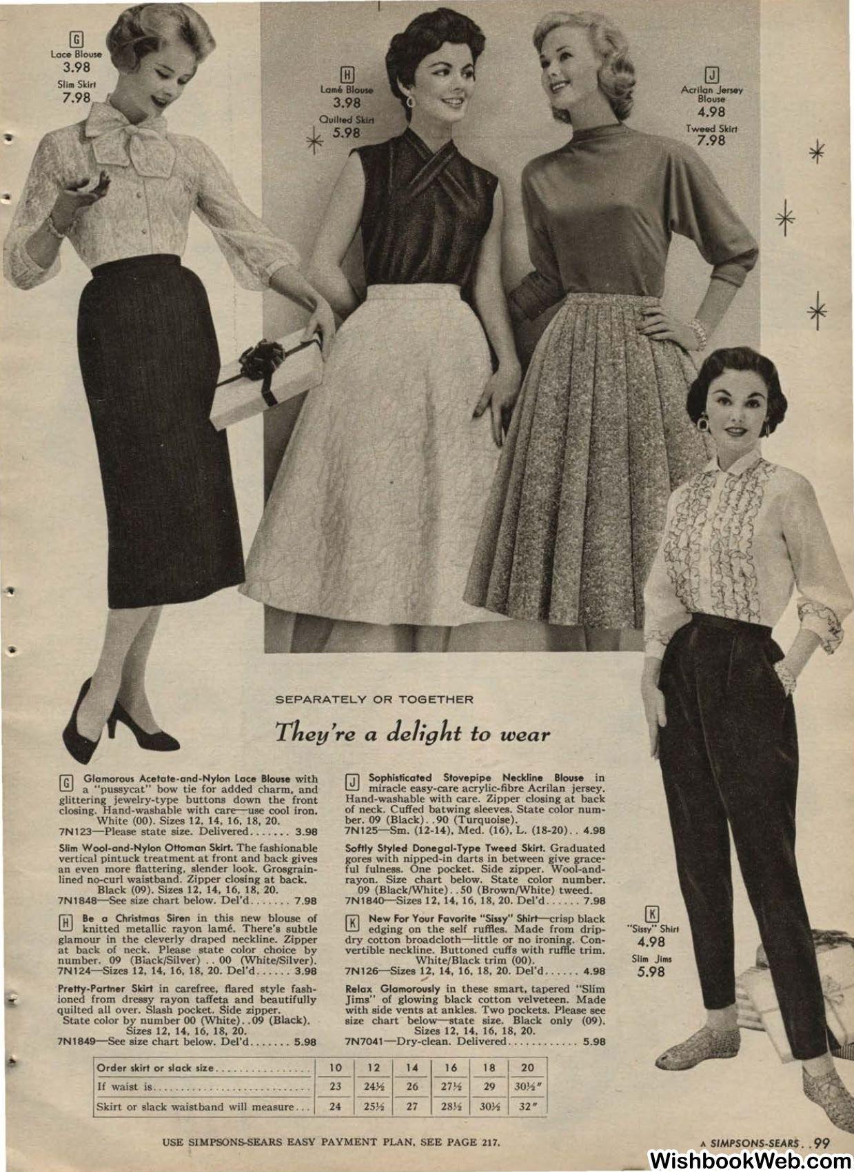 1957 simpsonsears canada christmas catalog vintage