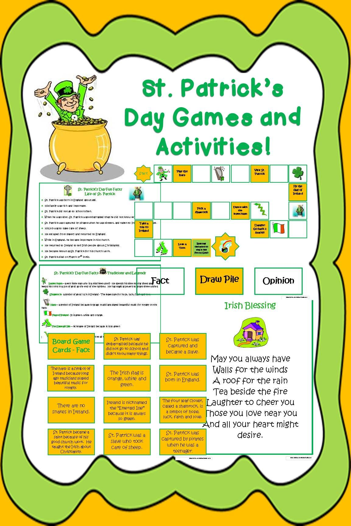 Celebrate St Paddy S Day With This Fun Pack Of Activities