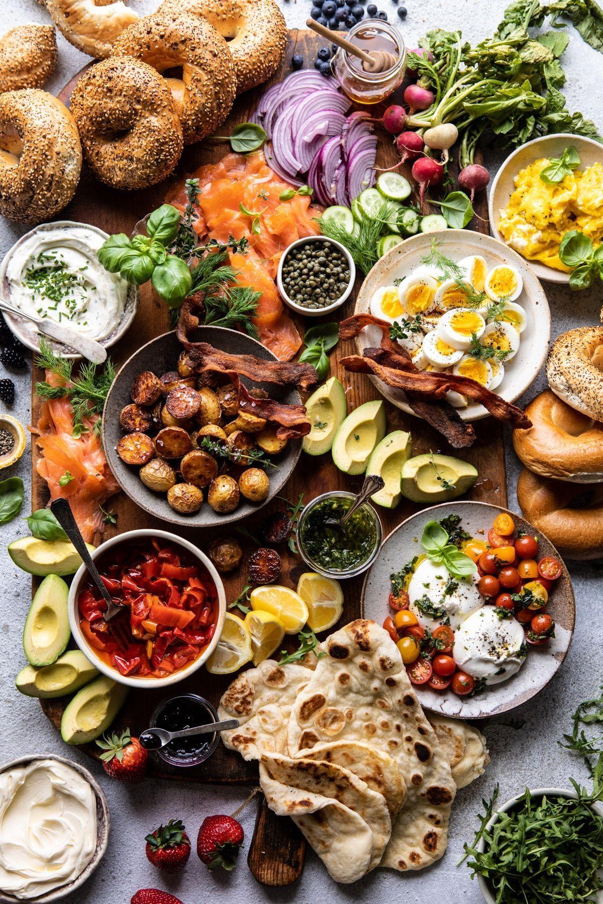Ultimate Spring Brunch Board. -  Ultimate Spring Brunch Board | halfbakedharvest.com #brunch #breakfast #potatoes #spring   - #board #breakfast #BreakfastSandwiches #brunch #HashBrowns #OvernightFrenchToast #OvernightOats #spring #ultimate #VeganBreakfastRecipes #WeightWatcherBreakfast