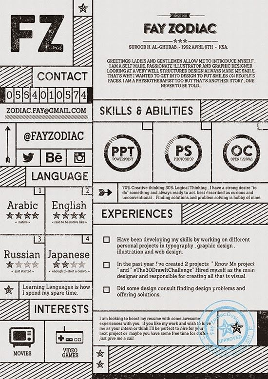 Platilla Currículum Vitae Gratis 05\/ Free Resume Template 05 - hobbies and interests on a resume