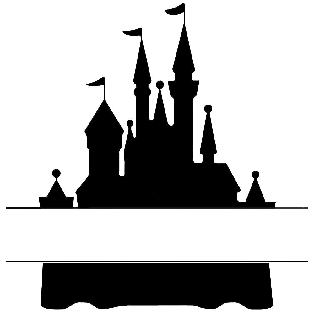 Cinderella Castle Silhouette Clip Art Google Search Castle Silhouette Silhouette Clip Art Cinderella Castle