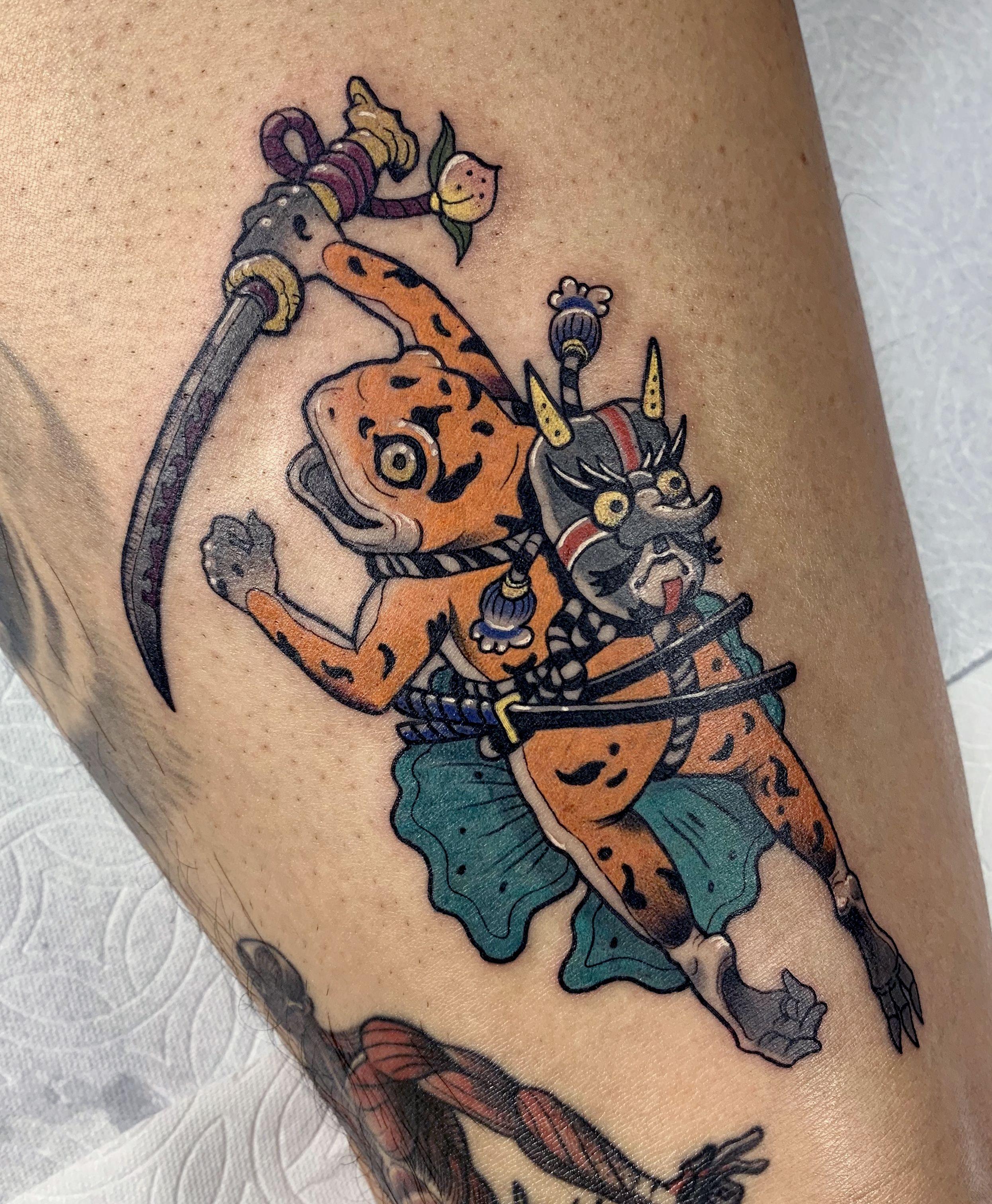 Toad Tattoo Tattoos Japanese Tattoo Designs Tattoo Designs