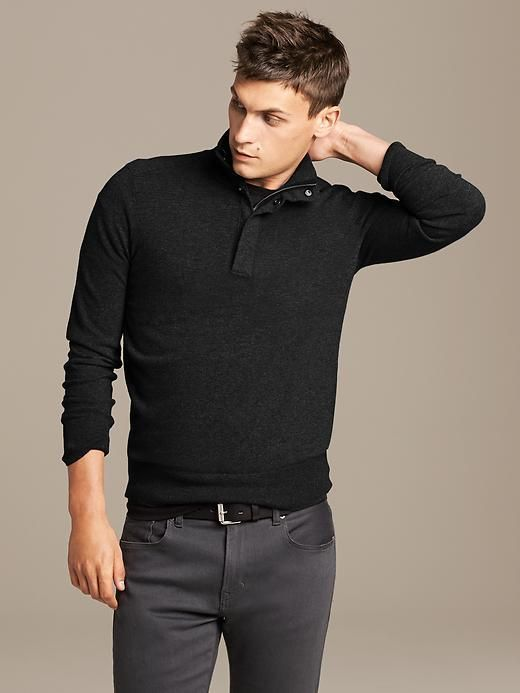 Double-Placket Pullover