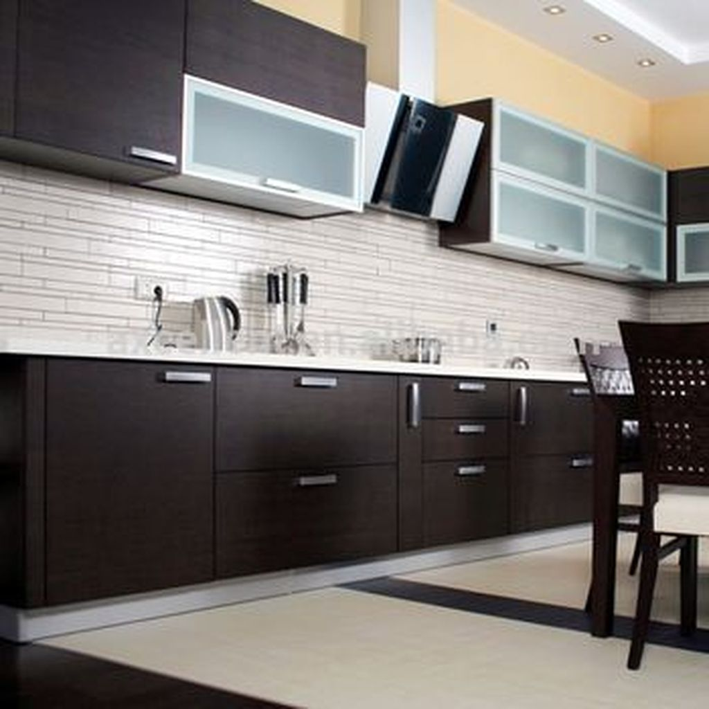 20 relaxing kitchen cabinet colour combinations ideas to try modular kitchen cabinets on kitchen cabinets color combination id=24863