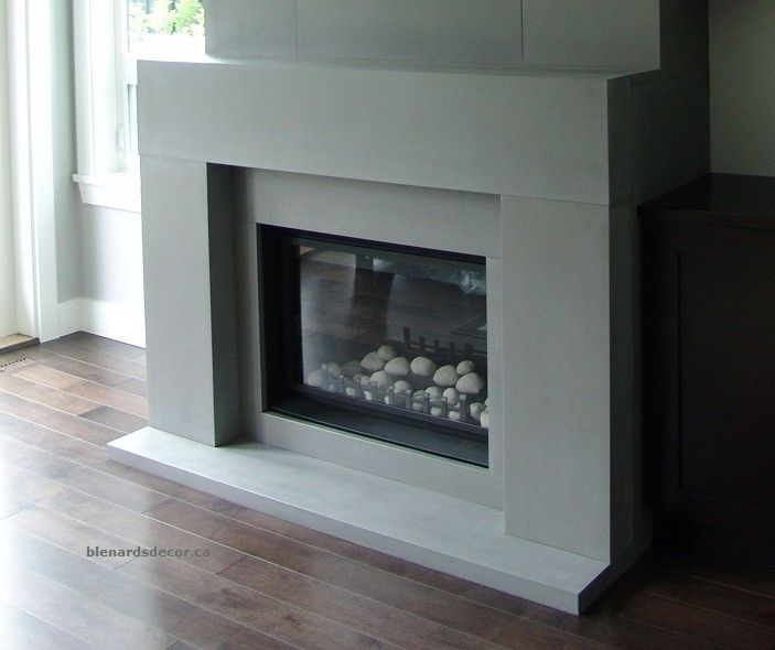 Contemporary fireplace mantels family room contemporary for Contemporary mantel