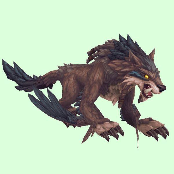 Blue Wolfhawk Lion Sculpture World Of Warcraft Concept Art