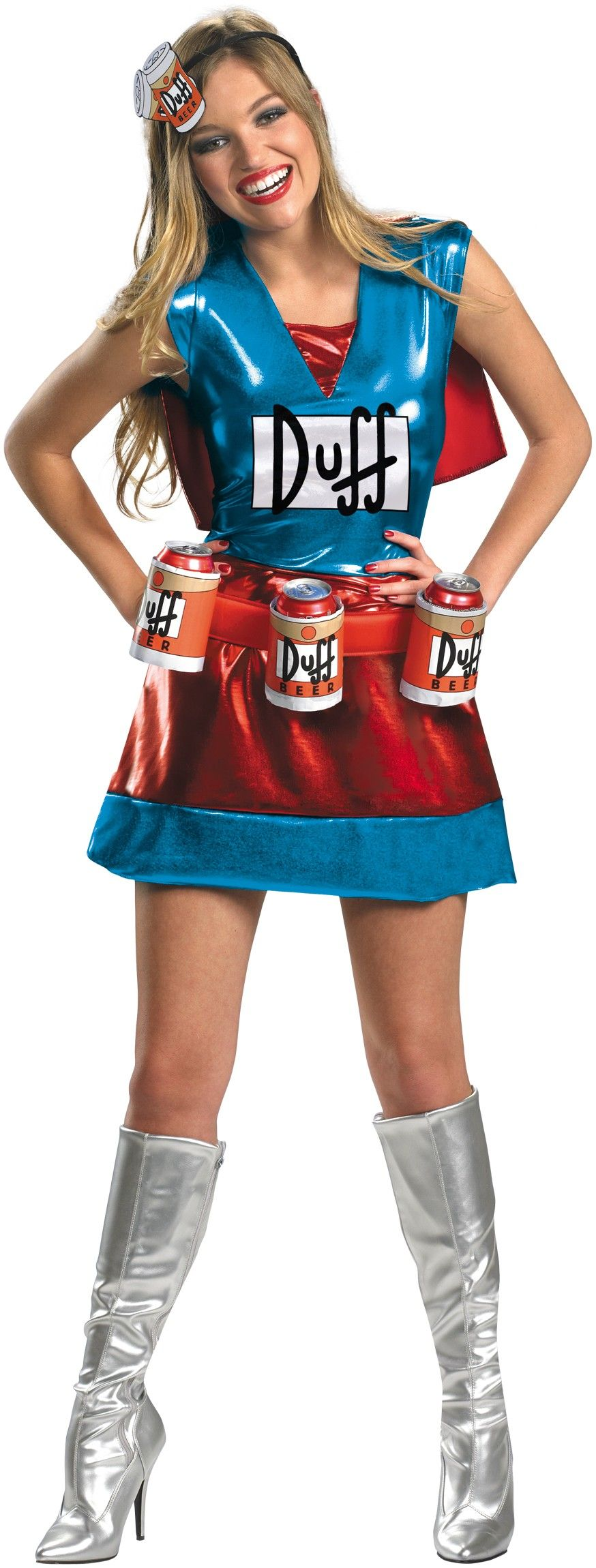 The Simpsons Duffwoman Deluxe Adult Women's Costume