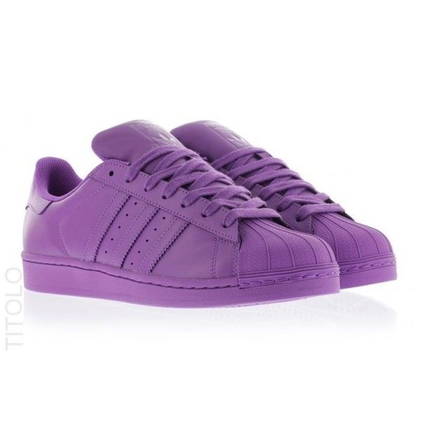 S41836 Ray Purple/Ray Purple/Ray Purple Pharell x Adidas Superstar ...
