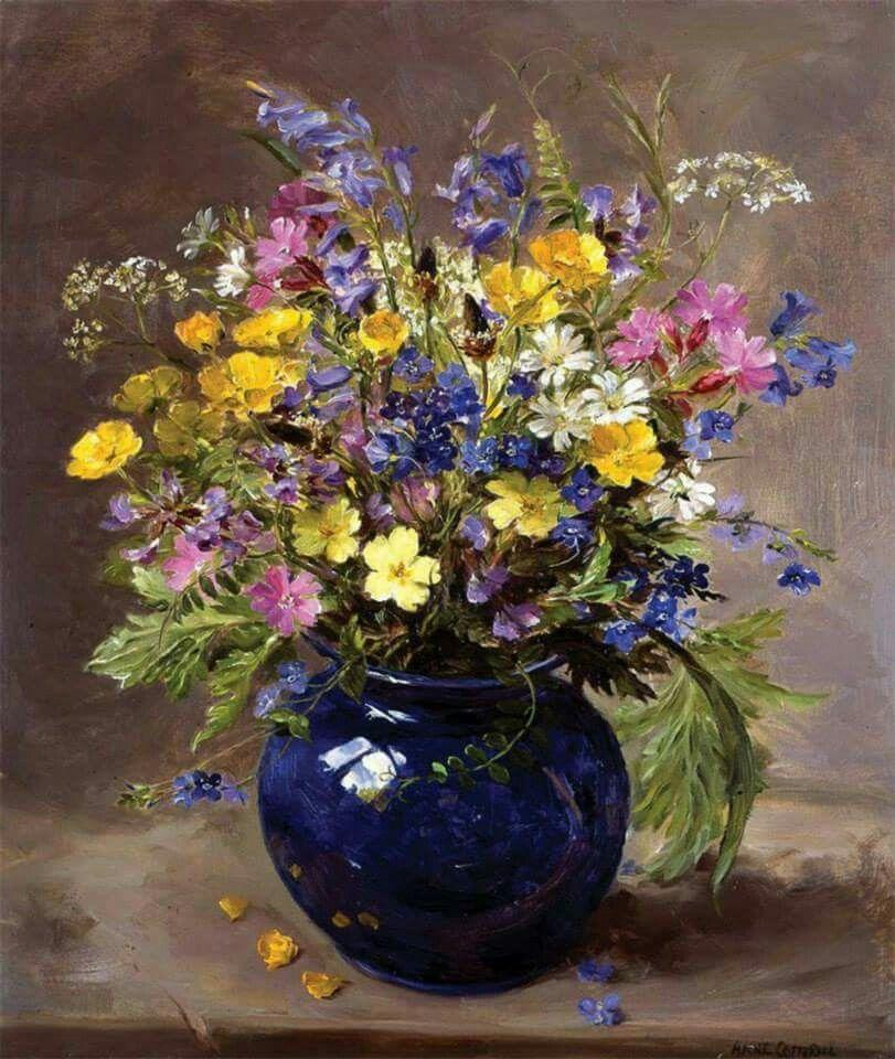 Pin Von Josef Gruschczyk Auf Pinturas Especiales Blumen Malen Blumen Gemalde Blumenbilder