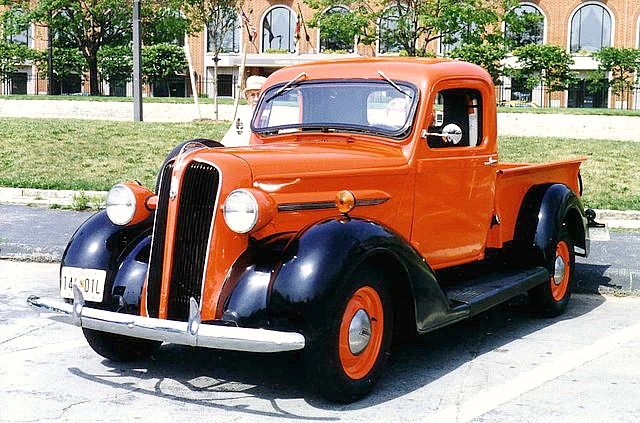 Rare Old Pickups 1937 Vintage Plymouth Pickup Truck Built By