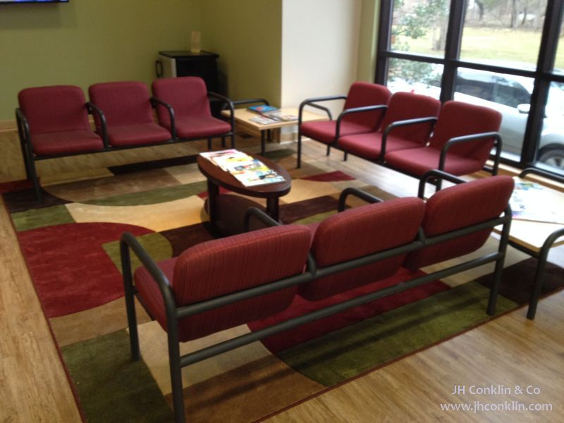 Dental Office Reception Seating