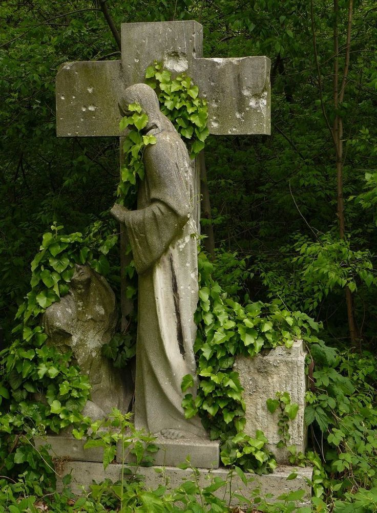 Kerepesi Cemetery, Budapest, Hungary. Founded in A huge part of the cemetery has turned completely into forest, in which old graves are hidden, ...
