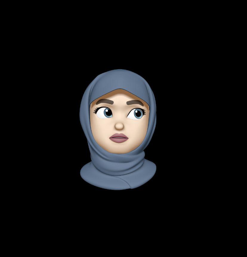 Pin On Hijabi Animoji S Cool veiled woman wallpaper