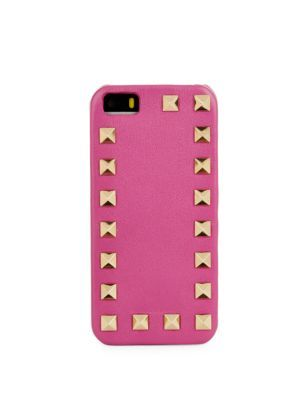 VALENTINO Leather Iphone 4/4S Case. #valentino #case